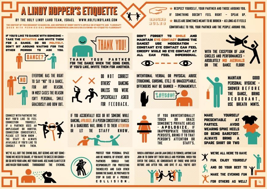 A Lindy Hopper's Etiquette